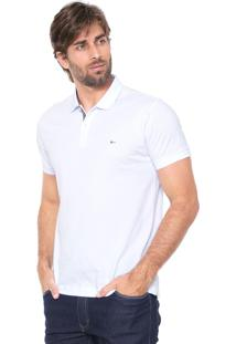 Camisa Polo Aramis Regular Fit Branca