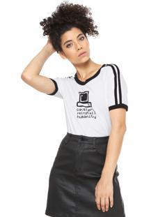 Camiseta Cavalera Reinstal Humanity Branca