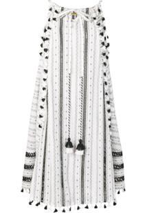 Dodo Bar Or Vestido Midi - Branco