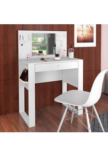 Penteadeira Com Espelho Pluma Pe900 – Art In Móveis - Branco