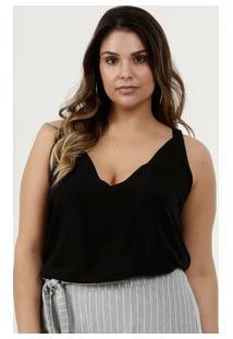 Blusa Feminina Plus Size Alças Finas Marisa
