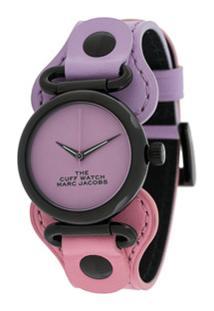 Marc Jacobs Watches Relógio Color Block - Roxo