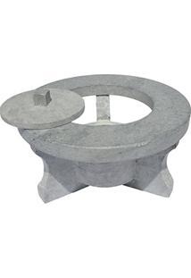 Rechaud Fogareiro Em Pedra Sabão 17 Cm