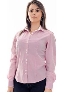 Camisa Pimenta Rosada Bella Rosa/Branca