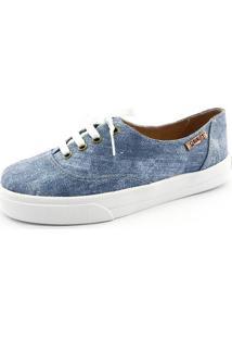 Tênis Quality Shoes Feminino 005 Jeans 40