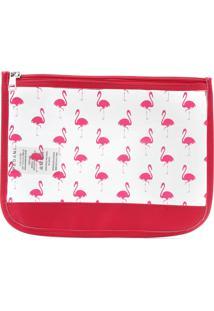 Necessaire Pagani Flamingo Rosa