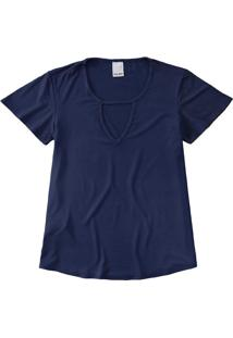 Blusa Recorte Frontal Malwee