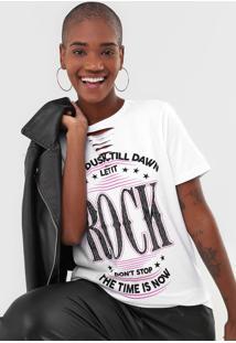 Camiseta Fiveblu Rock Branca - Kanui