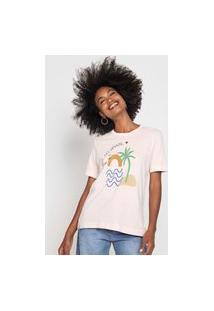 Camiseta Cantão Ilha Off-White