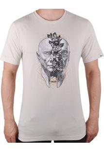 Camiseta Mcd Head Flowers Masculina - Masculino