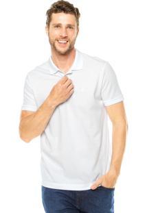 Camisa Polo Richards Logo Bege
