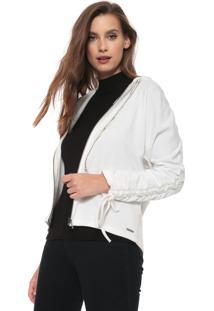 Jaqueta Triton Com Capuz Branco