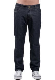 Calça Jeans Eventual Slim Fit Azul 46 - Masculino