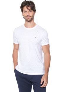 Camiseta Malwee Slim Botonê Branca