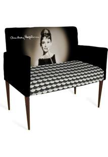 Cadeira Decorativa Mademoiselle Plus 2 Lug Imp Digital 127 - Kanui