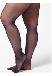 Meia-Calça Nylon Recoberta Actionwear Classic Plus Size (5529) Fio 20 Denier