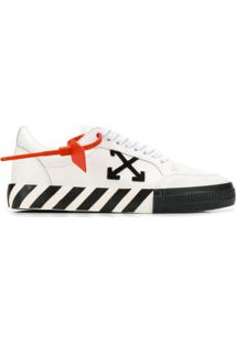 Off-White Vulcanized Low-Top Sneakers - Branco