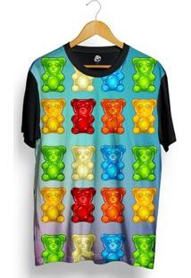Camiseta Bsc Docinho De Urso Full Print - Masculino