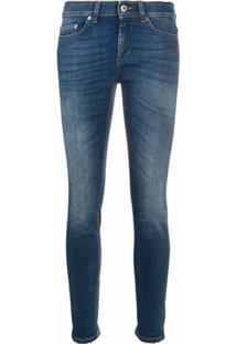 Dondup Calça Jeans Skinny Cropped - Azul
