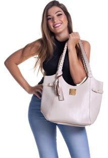 8df564706 ... Bolsa Alice Monteiro Sacola Com Alça Trançada – Off White