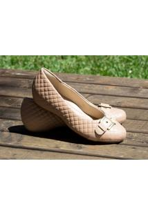 Sapato Dm Extra Matelassê Rosado 361573 Numeração Especial Tamanhos Grandes 41, 42 E 43