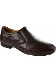 Sapato Social Masculino Sapatoterapia - Masculino-Marrom