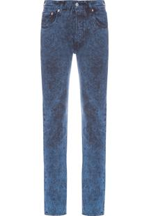 Calça Masculina Levis 501 Skinny - Azul
