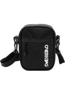 Bolsa Lateral Shoulder Bag Overking First Preto