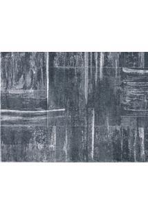 Tapete Metal 100X150 - Cinza