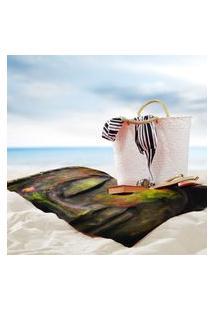 Toalha De Praia / Banho Buda Único