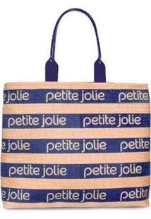 Bolsa Petite Jolie Summer Feminina - Feminino-Azul