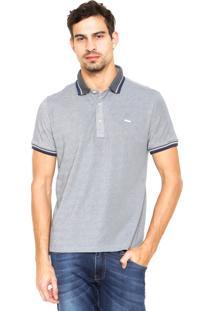 Camisa Polo Sergio K Frisos Cinza