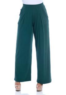 Calça B'Bonnie Pantalona Elis Verde Militar - Kanui