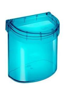 Lixeira Para Pia Coza Oval Retrô Poliestireno 2,7 Litros – Verde