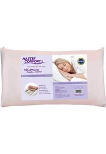 Travesseiro Viscoelástico Beauty Comfort Malha Plus Altura 13 Cm