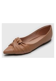 Sapatilha Dafiti Shoes Torção Nude
