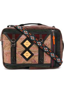 Etro Mochila Color Block - Neutro