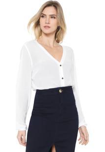 Camisa Dimy Básica Branca