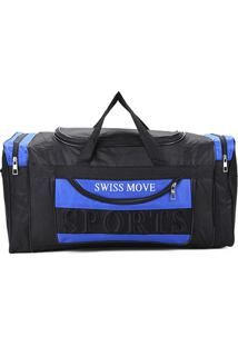 Bolsa Swiss Move Sacola Go Masculina - Masculino-Azul