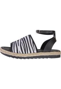 Sandália Avarca Dona Madame Mod.102 - 03 Zebra