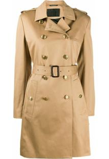 Givenchy Double-Breasted Trench Coat - Marrom