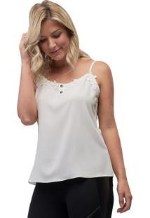 Regata Crepe Mx Fashion Madeleine Off White