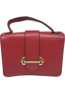 Bolsa Casual Sys Fashion 8536 Feminina - Feminino-Vermelho