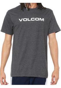 Camiseta Volcom Silk Crisp Euro Masculina - Masculino