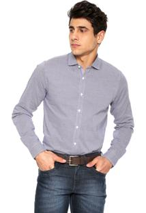 Camisa Tommy Hilfiger Willian Azul