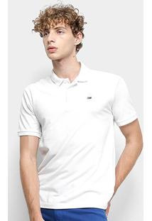 Camisa Polo Tommy Jeans Classic Solid Masculino - Masculino-Branco