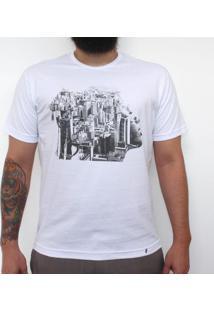 Inhale Exhale - Camiseta Clássica Masculina