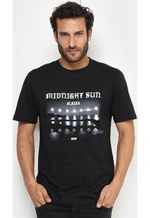 Camiseta Globe Básica Gloew Midnight Sun Masculina - Masculino