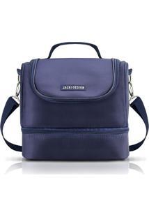 Jacki Design Bolsa Térmica Com 2 Compartimentos Azul