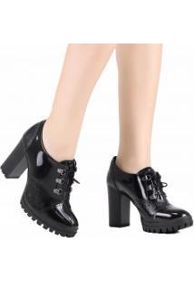 Sapato Dakota Oxford Salto Alto